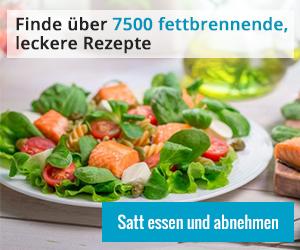 Über 7500 fettverbrennende, leckere Rezepte