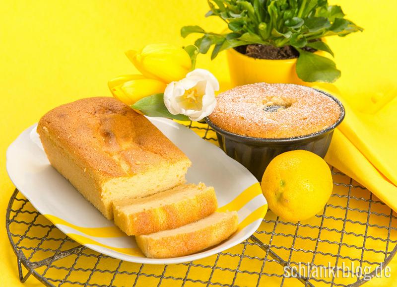 Fluffiger Zitronenkuchen